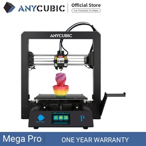 Anycubic Mega Pro Stampante 3D Stampa Stampa laser Incisione laser Touch Screen TPU Filamento Dual Gear Extruder