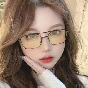 Rectangle Ladies Sunglasses Women 2021 metal Square Polarized Sun Glasses For Ladies Zonnebril Dames Vrouwen Bril