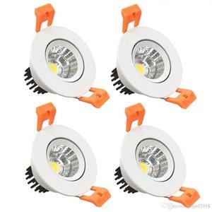 3W CRI80 LED Downlight Downlight Downlight Downlight Downlight Kit 220LM Découpé 2in (51mm) 60 degrés Angle de faisceau 3000K-6500K 25W HALOG
