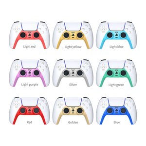 New PS5 Gamepad Decoration Strip Replacement Face Shell Handle Cover Middle Frame PS5 DIY Gamepad Decoration Strip
