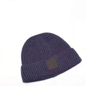 Cappello da uomo a maglia a maglia di vendita calda e cappello da donna autunno e inverno traspirante aderenza aderente aderenza cappello moda