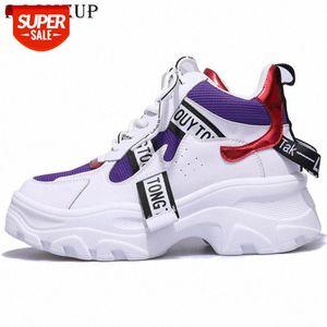 Plus Size Women's Platform Sneaker Fashion Brand Women Chunky Sneakers Comfort 2019 Casual Woman Dad Shoes Lady Footwear #lv8I