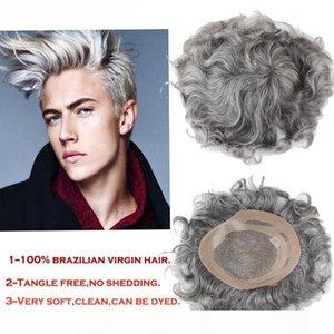 TKWIG Company avec Toupée pour hommes Toupée pleine dentelle perruque pour hommes Système de cheveux naturel des cheveux en gros Prix de gros