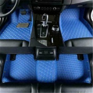 3D Luxury Custom Car Floor Boxster 2012~2020 Floor Mat Car Mats Non toxic and inodorous Good leather material