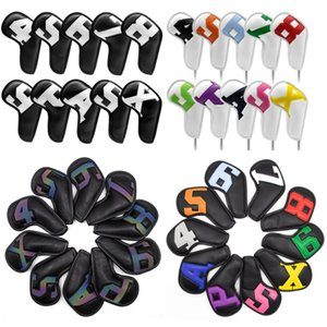 Gradients Number Golf Iron Head Covers 10pcs