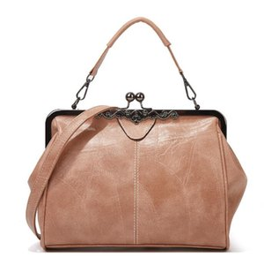 2021 new bag ladies high quality handbag fashion oil leather retro all-match shoulder messenger bags