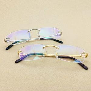 2021 New Vintage Carter Glasses Men Luxury Mens Clear Glass Women Brand Designer Frame Eyeglasses Eyewear Fill Prescription Iy3i