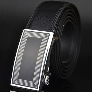 Belts Men's Automatic Buckle Leather Men's Trouser Belt, Guangzhou Tailless Suit Ak152