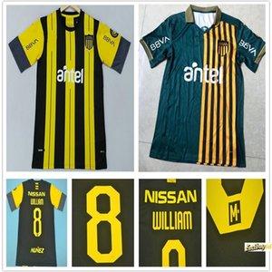 2020 2021 Uruguay Lucas النسخة الخاصة Viried تذكارية الطبعة نادي أتلتيكو بينارول لكرة القدم جيرسي مخصص peñarol الرئيسية كرة القدم قميص