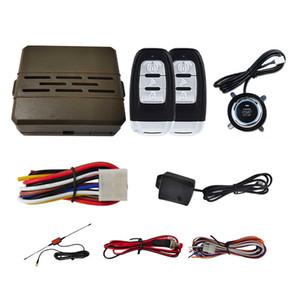 Universal Car SUV Keyless Entry System Engine Start Alarm System Push Onebutton Start System Remote Starter Stop Car Accessories