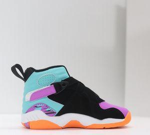 2021 NEW J8 Children Basketball VIII shoes boy girl youth kid 8 sport Sneaker size 28-35