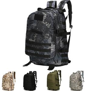 Zaino tattico impermeabile da 40L MOLLE MOLLE CAMOUFLAGE HUNGING Escursionismo Zaino Multicam Shooting Shooting Travel Climbing Bag