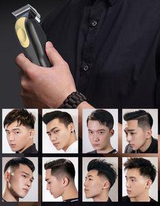 2021 8148 Magic Metal Hair Clipper Electric Razor Men Steel Head Shaver Hair Trimmer Gold Red