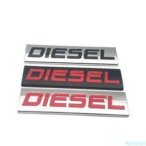 Car Styling Metal Diesel Logo Emblem 3D Decal Badge Car Sticker