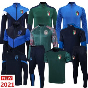 Италия Куртки Cousssuit Italia Учебный костюм 2021 22 Аргентина Месси Hoodie Футбол Спортивный Италия Куртка Выжитие Bonucci Insigne Chiesa Chiellini Locatelli