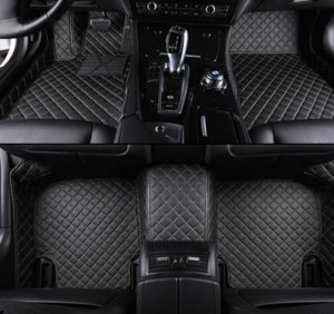 custom leather car floor mats for Land Rover Range Rover Evoque car accessories auto styling