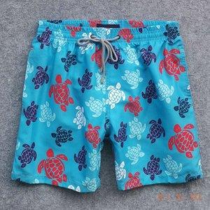 Brand Turtle Men Beach Board Swimwear Vilebre Animal Boardshort Sexy Quick dry Swim Short Mens Clothing 2020 New