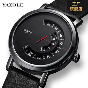 Yazole 509 fashion watch men's turntable waterproof men's watch sports quartz men's Watch
