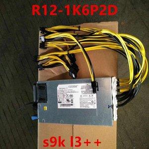 New PSU For Chicony Single 12V s9k l3++ 1200W 1400W 1600W Power Supply R12-1K6P2D