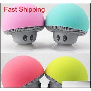 Haut-parleur de voiture Bluetooth Bluetooth de qualité supérieure avec suceur Mini mains portables mains sans fil Subwoofer expédition UAQPI 5SKOZ