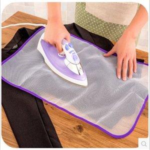 Cubierta de plancha de plancha de planchado de alta temperatura Aislamiento protector del hogar contra tableros de almohadillas de presión Paño de malla CCF7638