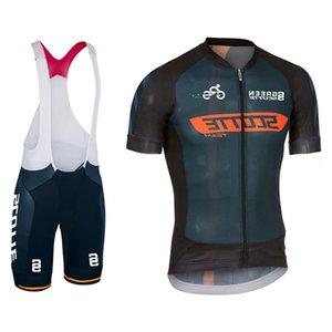 2019 Новый Green SoCtte с коротким рукавом Велоспорт Джерси набор MTB Велосипедная одежда Maillot ROPA Ciclismo Спортивная одежда