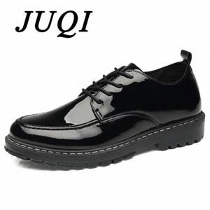 Homens Sapatos Lace Up Sapatos de Couro Patente Homens Mariagem Formal Vestido de Noiva Oxford para Zapatos Hombre Vestir R5VP #