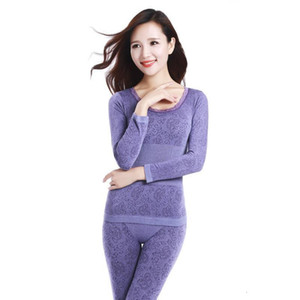2021 Autumn And Winter Arrival Modal Home Sleepwear Girdle Body-fitting Seamless Bodywear Thermal Underwear Suit Free Shipping