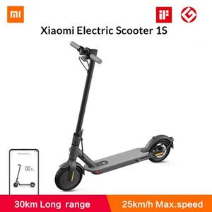2020 جديد xiaomi mi سكوتر الكهربائية 1 ثانية الذكية طوي سكوتر سكيت 250W موتور 20km رن ميني باتينيتي سكيت
