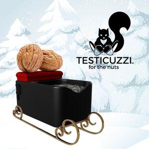 Testicuzzi Id Texicle Гидромассажная ванна для релаксации массажер мужской пенис игрушки черный белый с подушкой EPANCET