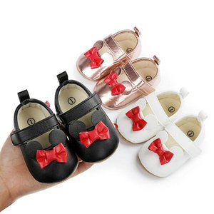 Baby Girl Shoes Newborn Shoes Infant Shoes 0-1T Cute Bows Princess Moccasins SoftFirst Walking Shoe Baby Footwear Toddler Wear B4082