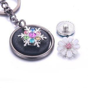 Keychain Keychain Keychain Key Corps Snap Snap Keychains Fit 18mm Snap Buttons Bijoux Bijoux Unisexe Lanyard Cadeau de Noël Q Wmtzgk