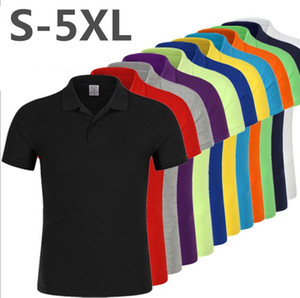 2021 High Quality Tops&Tees Men's Polo shirts Business men brands Polo Shirts Turn-down collar mens polo shirt