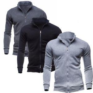 Christmas Turtleneck Jumpers Full Zip Brand Cardigan Mens Men's Clothing Spring Autumn Coat Sweater Men Fashion SweatshiJFDT