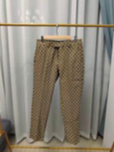 21ss Mens t shirt pants Spring summer new fashion Men Dress Pant Counter Business Casual Slim Fit Suit pants Lattice letter pattern Check
