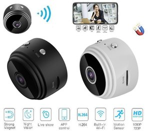 A9 1080P Full HD Mini Spy Video Cam WIFI IP Wireless Security Hidden surveillance Cameras Indoor Home dhl free