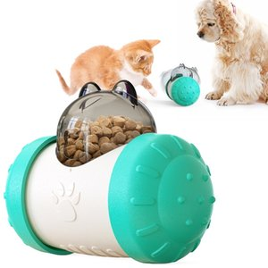 Pet Dog Toy Dogs Chew Food Leakage Slow Feeder Swing Bear Shape Puppy Cat Toys Puzzle Interactive IQ Treat Dispenser Pets Chasing Ball