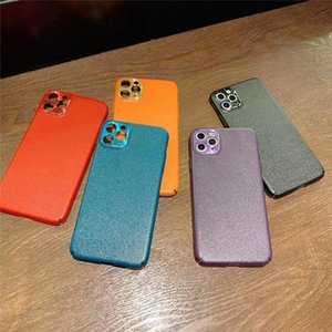 Novo PU Couro sentindo todo coberto Capa de proteção de câmera precisa para iphone 11 iphone x muti cores opcionais capa de alta qualidade