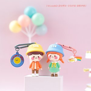 trend, Lanish, cool let's date, go on a the same couple's blind bag creative box Keychain Pendant