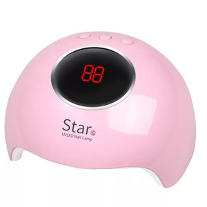Star6 Nail Dryer For Nail LED UV Lamp MINI USB Lamp For Manicure LCD Display Drying All Gels Nail Polish Nails Art Tools 36W