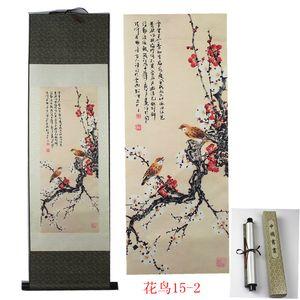 İpek Kaydırma Boyama Otel Ofis Ev Mobilya Dekoratif Resim Sergisi Feng Shui Boyama.