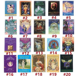 20 Style Tarot Cards Game Oracle Golden Art Nouveau The Green Witch Universal Celtic Thelema Steampunk Tarots Board Deck Games DHL Toy Wholesale