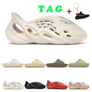 Kanye Slide Mens Mujeres Diseñador de moda Zapatillas Bone Desierto Ararat Ararat Tan Tierra Marrón Corredor Zapatos deportivos al aire libre