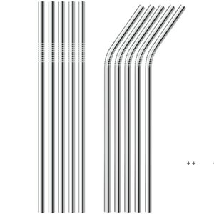 Stainless Steel Straw Steel Drinking Straws Reusable ECO Metal Drinking Straw Bar Drinks Party Stag FWB10659