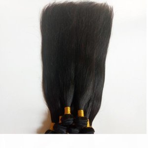 Unprocessed Brazilian virgin Human staright Hair Weave Factory Direct Sale Malaysian Indian remy hair extensions Wholesale in stock DHgate