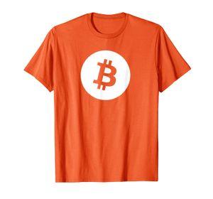 Bitcoin Logo CryptoCurnence рубашка