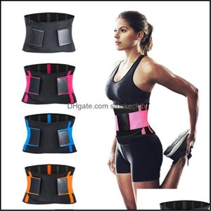 Waist Safety Athletic Outdoor As Sports & Outdoorswaist Support Adjustable Sport Protector Gym Weightlifting Yoga Training Fitness Body Buil