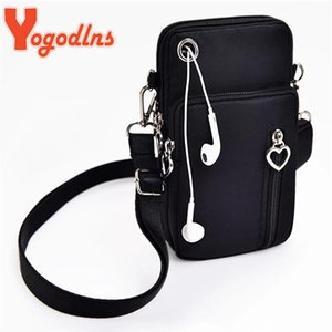 Evening Bags Yogodlns Crossbody For Women Waterproof Nylon Multifunction Casual Small Bag Mobile Phone Case Sports Purse