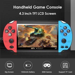 Portable Handheld Retro Video Game Consoles Gaming Mini Arcade Videogames Machine Player Emulator Smart Hand Held Family Pocket