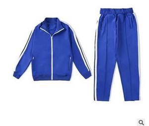 2021 Nuovo Arrivo Palm Stampato Designer Casual TrackSuits Uomo Donne Donne Primavera Autunno Tracksuit Yoga Giacche Jogger Sport Angeli Vestito lungo Pantalone